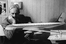 """Raymond Loewy / """"Raymond Loewy, né le 5 novembre 1893 à Paris et mort le 14 juillet 1986 (à 92 ans) à Monaco, est un designer industriel et graphiste français devenu franco-américain après sa naturalisation."""" wiki / by Xea B."""