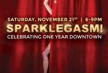 Sparklegasm: Our One-Year Anniversary / Celebrating One-Year in our Downtown Tucson location on 21 E Congress Street  EXHIBITION DATES: November 21st-February 27th Sparklegasm!—named after a customer's Urban Dictionary response to one of Krikawa's engagement rings—will feature a curated selection of jewelry and artwork, fitting the sensual and sparkly theme. This includes provocative fine art photography from Etherton Gallery's archives. / by Krikawa Jewelry Designs