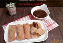 Boquitas (aperitivo, entremés) / recetas para dos