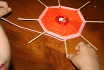 05. WEAVING / tessitura /  WEAVING - CRAFTS FOR KIDS / by Maria Lapappadolce