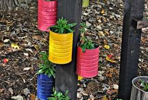 Dobrý nápad se hodí :-) / Drobná domácí výroba domů i na zahradu