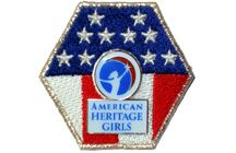 Stars and Stripes Award / The highest recognition in American Heritage Girls. This is a multi-faceted award that honors girls who epitomize the Oath and Creed. Earning this award means that you have worked diligently and have fulfilled all 6 of AHG's program emphases by meeting all of the award requirements.