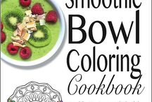Adult Coloring Books / We've jumped on the Adult Coloring craze with our free coloring cookbook: The Smoothie Bowl Coloring Cookbook. And now we're downloading even more freebies and having lots of creative fun along the way.