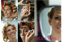 Bridel arrangements Maike Kempen Dirks / Hair & Make up styling Bride & Brides maids