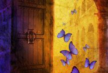 Free to Fly / Butterflies in Art / by Eliane Tanassi 🎀
