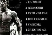 Arnold inspiration BE Hard and WIN