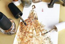 Платье дизайн лак