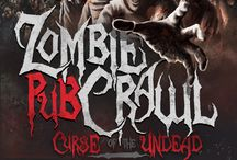Zombie Pub Crawl / CURSE OF THE UNDEAD - Zombie Pub Crawl on Saturday, October 18th 2014 taking on Downtown Ferndale 4-9pm! ZombieCrawlFerndale.com