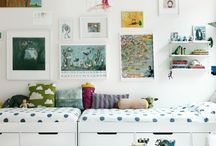 Rooms for Kids / Design and decorating ideas for small spaces. / by Elisabeth Bergman