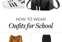 Back to school outfit ideas:)