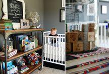 Baby Boy Nursery / Baby Boy Nursery Decor & Inspiration