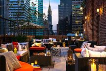 Bars and rooftop bars