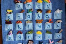 Montessori pomůcky a nápady