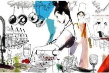 art and food! nice combination!!!