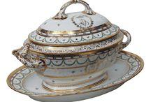 antique soup tureen