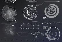 Interfaces futuristes