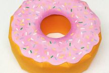 Doughnut Boxes  / Create your own doughnut-shaped boxes using my simple template!