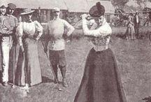 Vintage Golf Photos / Women's golf fashion trough the years.