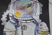 Zeichnungen / Malereien