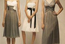 Bridesmaid Dresses/Hair Inspiration
