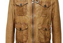 Leather jackets man