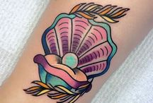 Thigh tattoo piece