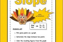 Slope / Math