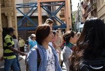 Visita Murong Yindao y Penny Dai / Visita realizada ele 20 de junio de 2013 dentro de la campaña promocional de la marca España que les llevó a visitar el Mercado Central de Zaragoza.