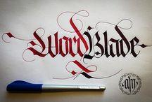 Fraktur Calligraphy