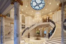 Grand staircases .