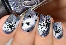 Körmök Halloween