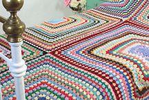 büyük motif li battaniye