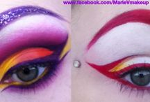 My makeup Ive found on Pinterest / Mixture of my own makeup that ive found on Pinterest and a few I uploaded myself / by Marie Misfit