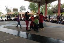 Dpto de Danza en la SEA 2016 / El Departamento de Danza realizó actividades junto a la Escuela Claudio Arrau de El Bosque en el marco de los Circuitos Culturales y Un Artista en mi Escuela, actividades que organiza la Universidad de Chile dentro de la Semana de la Educación Artística (SEA) 2016.   Fotografías: Bernardita Barría, profesora de Danza de la Escuela Claudio Arrau.