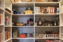 Pantry and Kitchen / Organizing your pantry and kitchen makes cooking much more enjoyable!