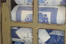 Blue & White / Oh how I love love love blue and white!