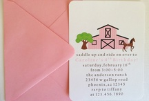 Birthday Party - Horse Themed / Birthday party inspiration that's horse themed