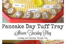 Pancake Day/ Runaway Pancake