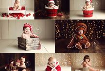 Christmas Photography Setups / Christmas is a time when photographer's can attract a lot of clients to their studios with mini sessions.  Here are some setup ideas that are relatively easy to create. Also see my christmas backdrop designs : http://bit.ly/christmas_backdrop_designs