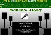 Mobile Disco / Mobile Disco London Sound Of Music Mobile Disco DJ Hire Agency www.soundofmusicmobiledisco.com Mobile DJ Hire Mobile Disco Hire Wedding DJs Party DJs & Kids Discos.