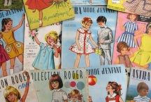 children's sewing patterns / by Tina Ballard