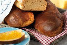 Bröd, recept / Recept på bröd