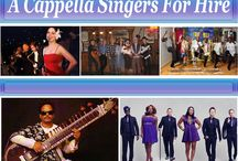 A Cappella singers for hire