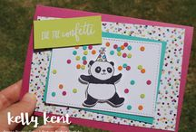 Stampin Up - Party Pandas
