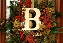 Wreaths ,Swags ,and Arrangements / by Patricia Reslinger