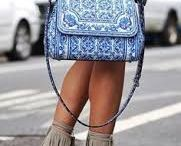 Assignment 4: Pacific Artisan - Girl walking past designer store with her PA bag