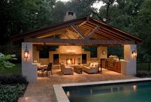Pool house and outdoor entertainment / Pool house