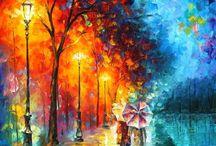 pintura al oleo