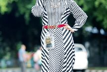 Black and White Dress / Moslem Dress