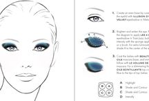 Face Charts & Tutorials
